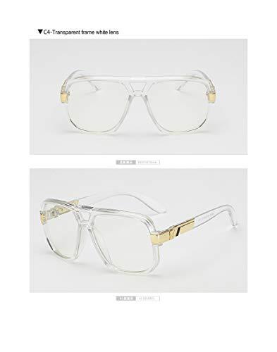 RTGreat Square Sunglasses Sonnenbrille Men Luxury Design Couple Lady Celebrity Flat Hot Women Sun Glasses Super Star Cool Eyewear C4