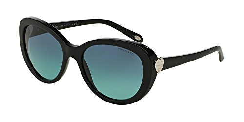 Tiffany & co. tf4113, occhiali da sole unisex-adulto, nero (black), taglia unica