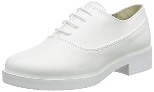 Jonny`s Vegan Nahimana Damen Oxford Schnürhalbschuhe Weiß (blanco)