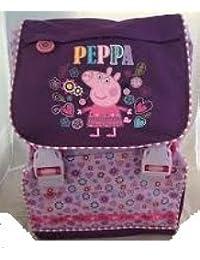 Peppa Pig - Mochila casual  Morado violeta