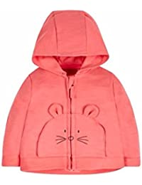 Mothercare Baby Girls' Regular Fit Cotton Jacket
