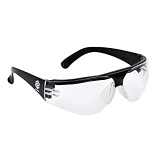 Arbeitsschutzbrille Schutzbrille kratzfest EN166 klarglas