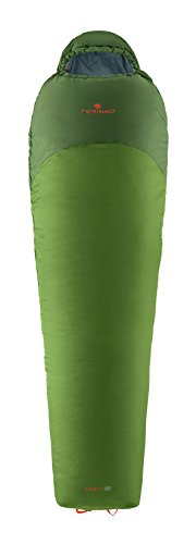Ferrino levity 02, sacco a pelo, unisex, verde, 220 x 50 x 78 cm
