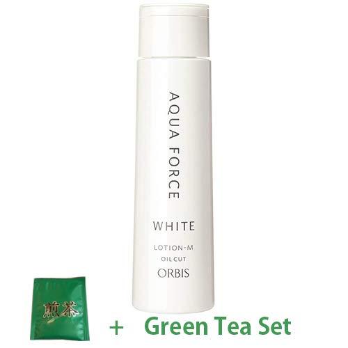 Orbis Aqua Force White Series Skin Lotion 180ml - Moist (Green Tea Set)