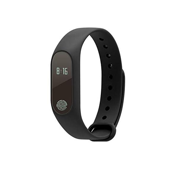 Profesional 0.42 Inch Touch Scrren Style Impermeable Fitness Activity Tracker Reloj Inteligente Pulsera (Negro… 1