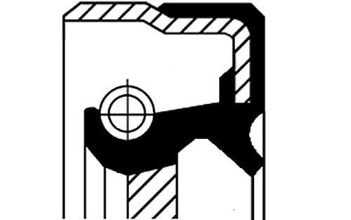 Corteco 01033854B Paraolio Cambio Manuale Anello Tenuta Differenziale Primario