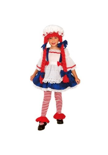 Kostüm Doll Rag Kids - Kost-me f-r alle Gelegenheiten Ru885624Sm Rag Doll Girl Child Klein