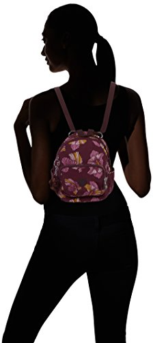 Kipling - Mini Backpack, Zaini Donna Multicolore (Herridage Fl)