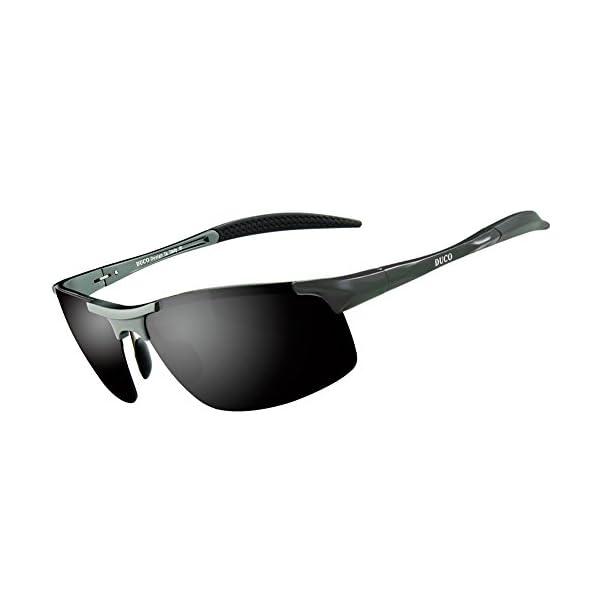 f0032ee56d3 Duco Men s Driving Sunglasses Polarized Glasses Sports Eyewear ...
