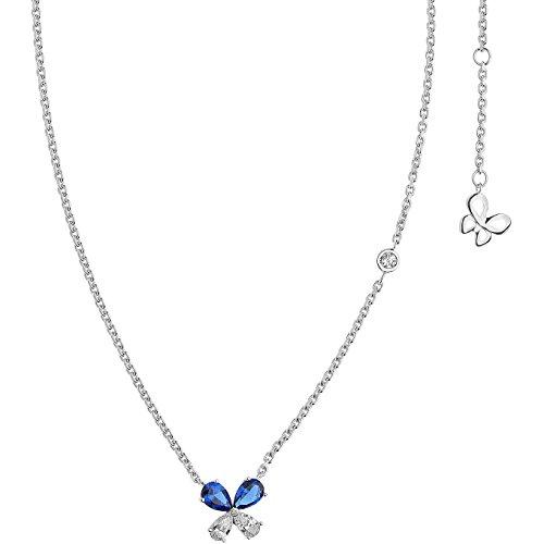 Collana donna gioielli comete farfalle elegante cod. gla 158