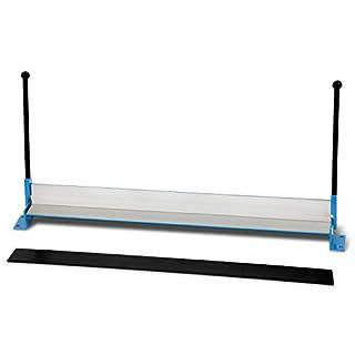 EBERTH Plieuse de tôle manuelle (largeur matériau max. 1000mm, epaisseur matériau max. 1,2mm acier, rayon de courbure jusqu'à 90°, poids 19,5kg)