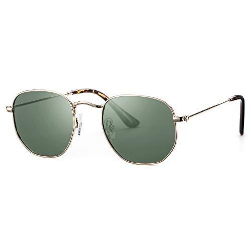 selezione migliore 544d1 1042d Avoalre Occhiali da Sole Polarizzati da Donna da Uomo Unisex Vintage  Occhiali da Sole 100% UV400 Protezione retrò Stile Rivestimento  Ultraleggero ...