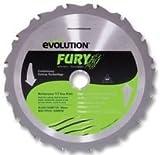 BLADE, M/PURPOSE, TCT, FURY, 185MM FURY BLADE 185MM By EVOLUTION (POWERTOOLS)
