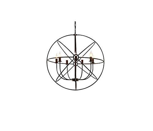 Deckenleuchten Lampen Kronleuchter Pendelleuchten Retro Lichtindustrial Vintage Style Scheune Mini Metall Pendelleuchte Lampe Deckenleuchten mit Kette Einstellbar Fertiggestellt im Alter von Schwarz