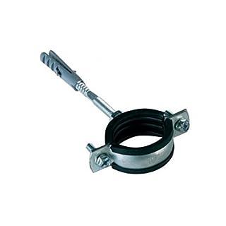 Anti-Vibrations-Rohrschellen aus Metall, gummiert, für 68-75 mm dicke Rohre