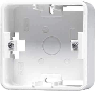Price comparison product image Jung CD581AGR Surface-Mounted Socket Cover with Frame for 1 Socket