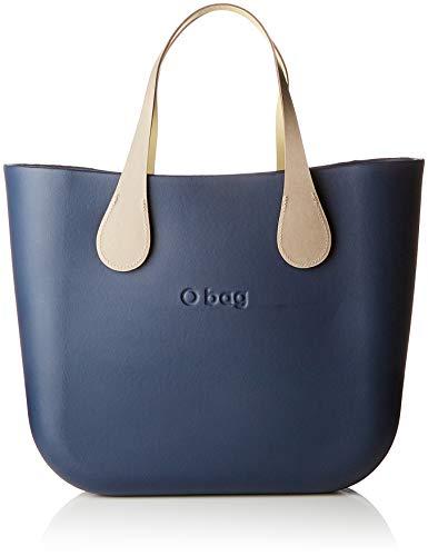 O bag B002_017, Borsa a Mano Donna (Blu Navy), 11x31x40 cm (W x H x L)