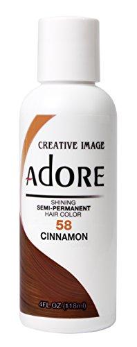 Adore Shining Semi-Permanent Haar Farbe Ginger 118