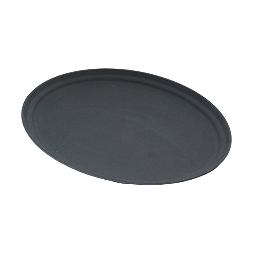 Genware nev-gg2700blk Tablett oval, gen-grip, 68,6cm, rutschfest, schwarz