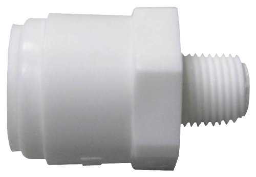 WATTS BRASS & TUBULAR - 3/8 x 1/8-Inch Male Pipe Thread Adapter (Male 3/8 Thread Pipe)