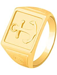 Dare By Voylla Brass With Yellow Gold Plated Ring For Men