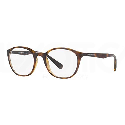 Ray-Ban Damen 0EA3079 Brillengestelle, Braun (Dark Havana), 49