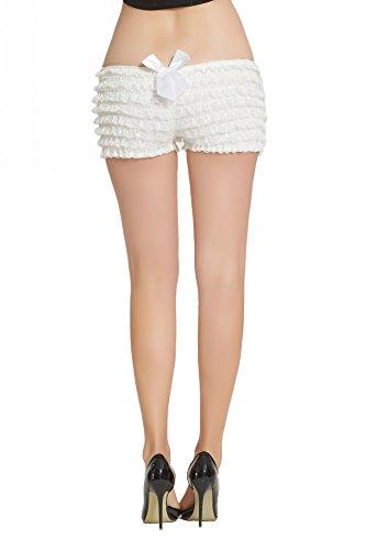 ggings sexy mehrschichtige Rüschen Panties Sexy Pettipants Shorts ()