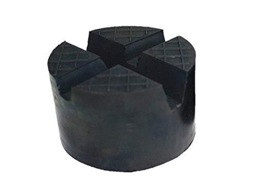 Gummiauflagen für Wagenheber in über 40 Varianten und Größen (Ø85x50mm 2xV-Nut/Waffel / Aussparung)