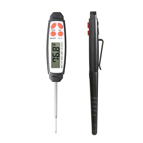 Refrigerator-Thermometer-NexGadget-Waterproof-Fridge-Freezer-Thermometer-With-Easy-to-Read-LCD-Display-and-MaxMin-FunctionPerfect-for-HomeRestaurantsBarsCafes