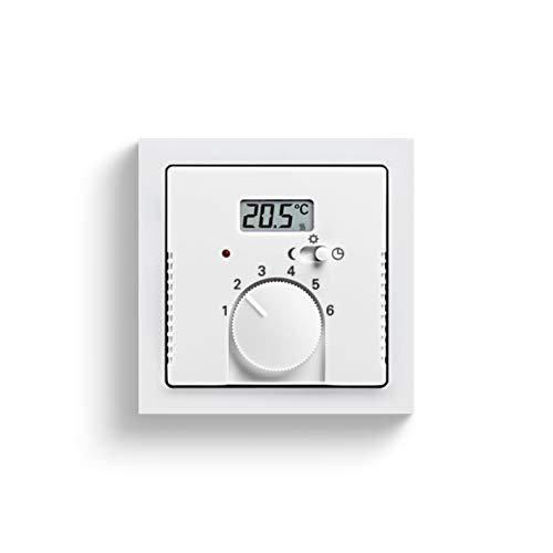 Niessen tacto - Tapa termostato con interruptor codigo 8140.1 tacto antracita