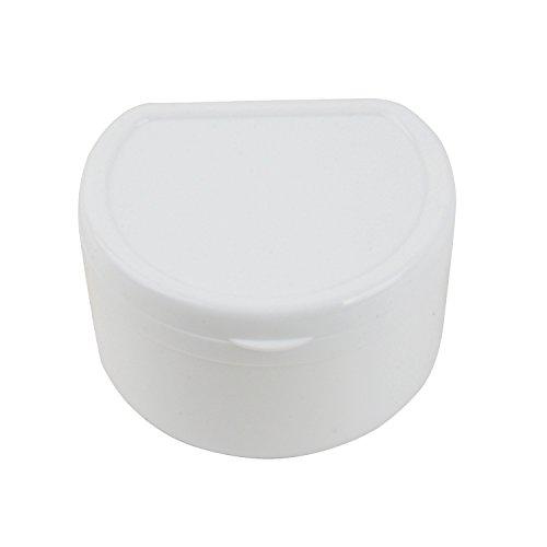 AZDENT® Zahnärztliche Plastik Box, Zahnersatz Bad Feld (Weiß)
