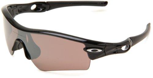 Oakley OO 9051 RADAR PATH, Herren Sonnenbrille, Schwarz - Nero (Metallic Black/Black Iridium Polarized) - Größe: Einheitsgröße