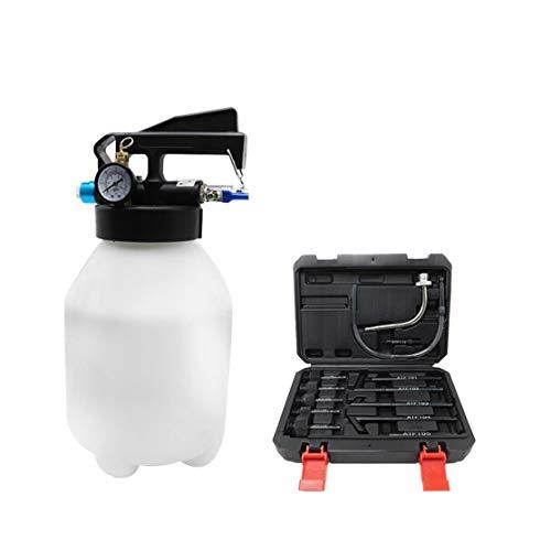 LouiseEvel215 Strumento di riempimento del Cambio del Cambio dell'olio di pompaggio della Pompa di Cambio Automatico dell'estrattore dell'estrattore di Carburante Pneumatico da 6 Lit