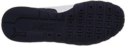 Puma ST Runner NL Unisex-Erwachsene Laufschuhe Blau (Peacoat/White)