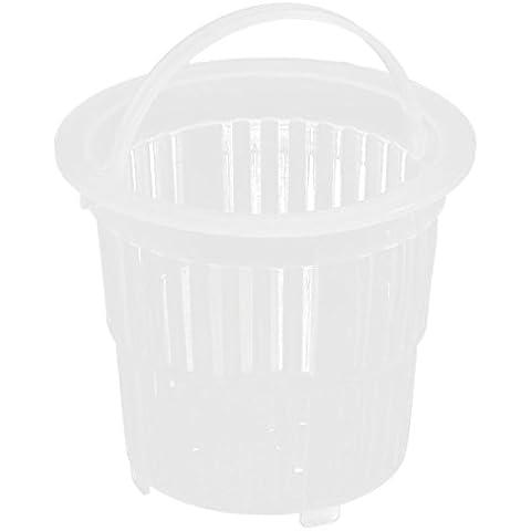 Lavabo plástico escurridor colador tapón filtro cesta