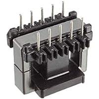 5 juegos EE25 5 con bobina de transformador de 5 pines PC40 núcleo de ferrita vertical 10 mitades de ferrita y 5 bobinas