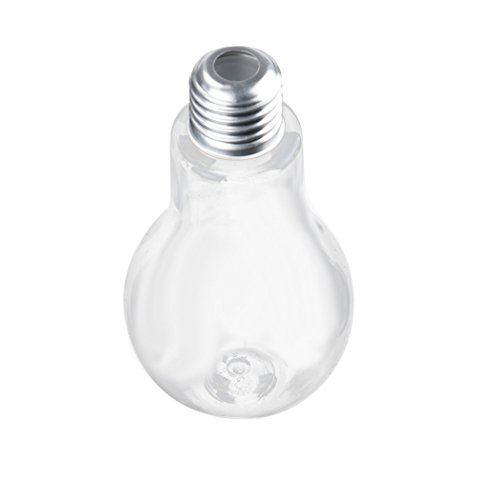 Nouvelle bouteille d'eau d'ampoule d'été, jus mignon de jus de lait (500ml)