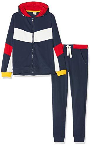ZIPPY Chándal Team, Azul (Dress Blue 19/4024 TC 185), 12 años (Tamaño del Fabricante: 11/12) para Niños
