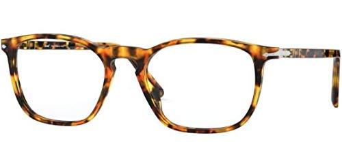 Ray-Ban Unisex-Erwachsene 0PO3220V Brillengestelle, Mehrfarbig (Yellow Tortoise), 54.0