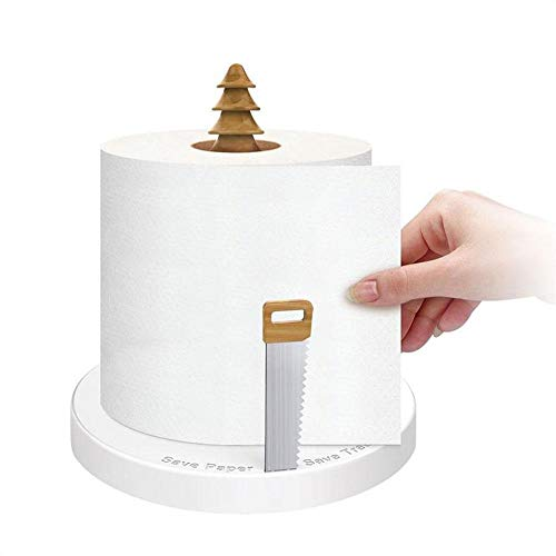 Leegoal - Soporte para Toallas de Cocina, 1 Mano, Soporte para pañuelos de Cocina, toallero de Papel, dispensador de Papel de Cocina con Ventosa para Cocina, Dormitorio, baño, Small