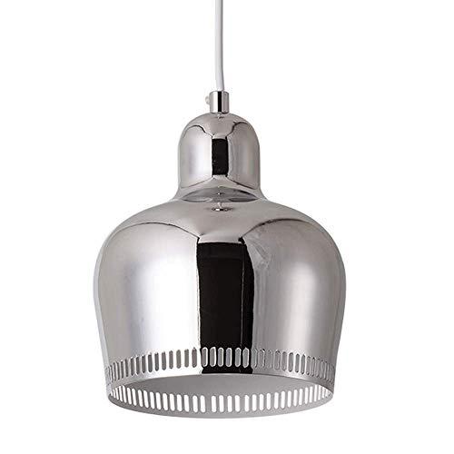 Wuminghu nordic regolabile rotondo vernice ferro lampadario post-moderno minimalista single-head placcatura lampada a sospensione camera da letto plafoniera (design : 2)