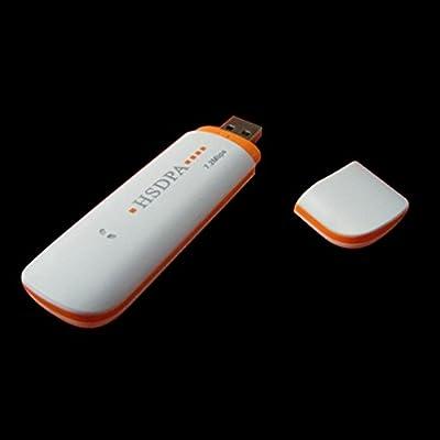 Universal 7.2Mbps Módem USB TF Adaptador Tarjeta Inalámbrica 3G SIM Dispositivo de Seguridad Rojo