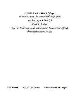 sinnliche spirituelle Gedichte Sammlung: 7 TOP Gedicht zu 7 ...