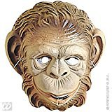 Monkey Mask Child Plastic Ape Masks Eyemasks & Disguises for Masquerade Fancy Dress Costume Accessory