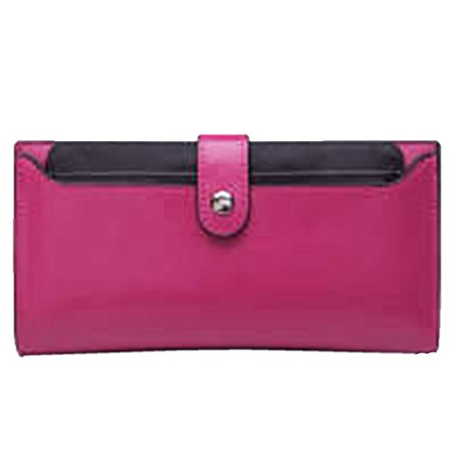 WU Zhi Lady In Pelle Frizione Borsa RoseRed