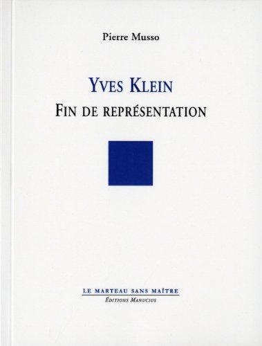 Yves Klein - fin de représentation