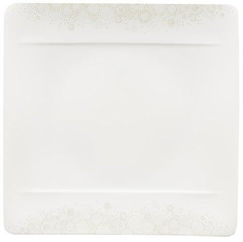 Villeroy & Boch 10-4511-2610 Modern Grace Grey Speiseteller, 27 x