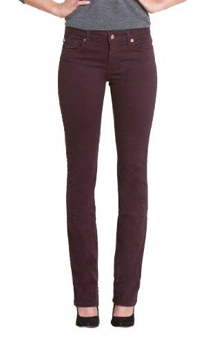 Henry & Belle Damen Jeans Normaler Bund, All over Druck 133710, Gr. 29, Rot (black cherry) (Henry Jeans 29 Und Belle)