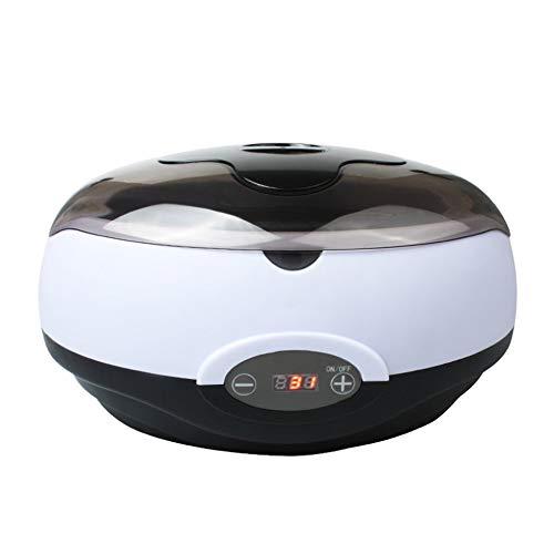 IanqAzwibvd-UK Digitalanzeige Wärmer Wachserhitzer SPA Handepilierer Füße Paraffinwachs Maschine schwarz & weiß -