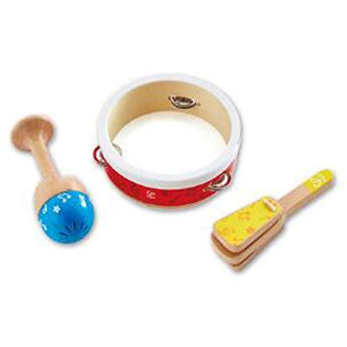 NBZLY Instrumento de percusión de 3 Piezas